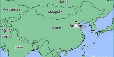 Cartina Geografica Della Cina.Beijing Pechino Mappa Mappe Beijing Pechino Cina
